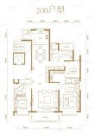 万达龙樾府3室2厅3卫