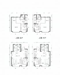 2室2厅2卫户型图